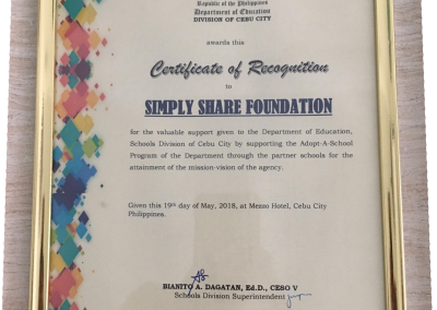 DepEd- Certificate of Recognation-18