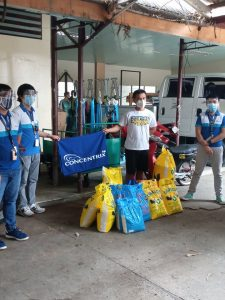 Donation from Concentrix Mactan